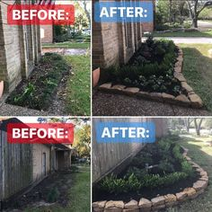 Front yard flower beds complete with our latest project! Rejuvenate your home CALL or EMAIL to set up your estimate appointment! (contact info in bio) . . . #landscaping #landscapinglights #plants #planting #gardening #garden #flowers #flowerbed #houston
