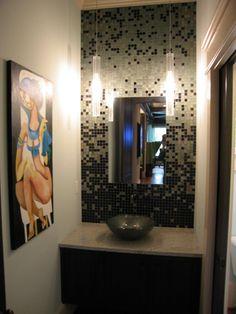 Cool way of applying tile