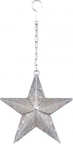 Nala adventstjerne Nova Life Antikk Sølv   Lampehuset