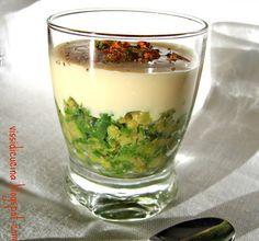 Caviale di zucchine e crema di Parmigiano #recipe #juliesoissons