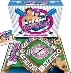 A Great gift for the Bride at The Bachelorette Party!  Bedroom Baseball Game for the newlyweds!