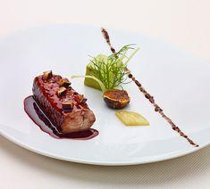 Daniel Boulud | Slow baked sea bass, fennel royale & caramelized figs