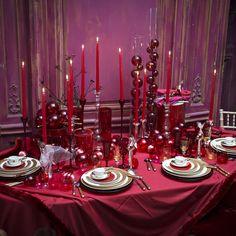 déco de table majestueuses pour Noël et le Nouvel an