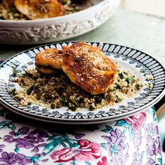 Zaatar Halloumi with Couscous Salad from 'Mighty Spice Express'