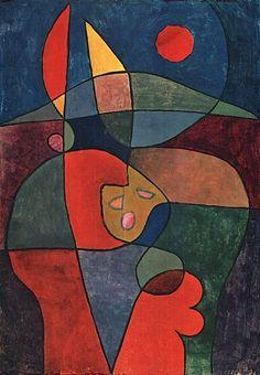 Paul Klee - Cottage Garden in Person