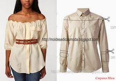 Блуза - проще простого!