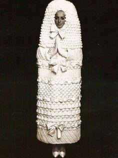 "Yves Saint Laurent , robe de mariée ""Babouchka"", 1965"