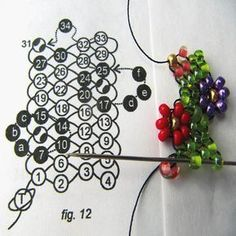 Peyote-Stitch Daisy Bracelet - step by step ~ Seed Bead Tutorials