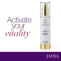 Experience the power of JAFRA's RoyalActive peptide.
