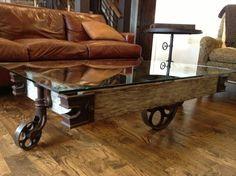 rustic modern coffee tables