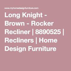 Frontier - Canyon - Rocker Recliner | 7760025 | Recliners | Home ...