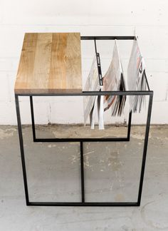 Zine Table By Salvage Interiors