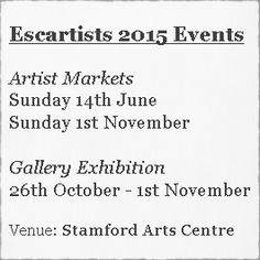 About ESC Artists: We organise Artist led shows. Our events are a By Invitation opportunity for artists to showcase their work in a friendly environment.