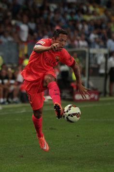 Adriano Correia of F.C. Barcelona controls the ball during the La Liga  match between Malaga CF d2598b48f67