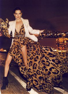 Kate Moss leopard luxe