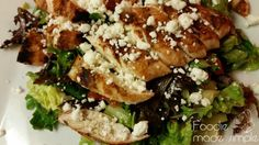 Grilled Chicken and Avocado Salad with Homey Lime Dressing