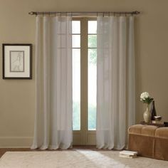 product image for Cambria® Terra X-Inch Rod Pocket Sheer Window Curtain Panel in