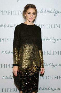 The Olivia Palermo Lookbook : Olivia Palermo Celebrates the Holidays at the Piperlime SoHo Store.