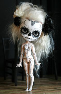 Day of the Dead Dolls by Melancholy Kitties
