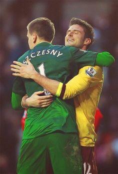 Szczesny & Giroud.
