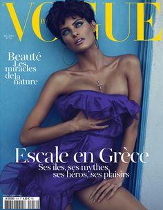 Vogue Paris June/July 2011 Cover | Isabeli Fontana by Mert & Marcus | as Linda