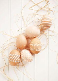 15 ovos decorados à mão para você se inspirar easter eggs decorated dyed