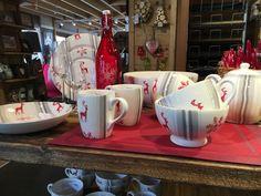Collection Rennes des Neiges pour votre table au style montagne :) #rennes #neige #vaisselle #montagne #vaisellemontagne #mug #boissonchaude #petitdejeuner #repas #decomontagne