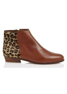 SOLDES - E-boutique Boots Plates La Sauvageonne Marron Bobbies femme | Place des Tendances