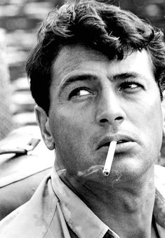 rock hudson...saw him in person. what a knockout.