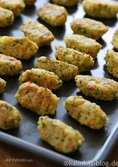 LowCarb || Blumenkohl-Nuggets
