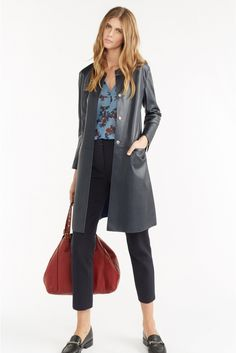 Cassius coat, navy | gerard darel