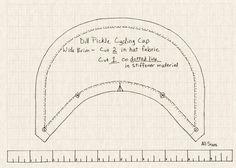 baseball cap pattern sewing - Google Search