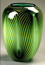 stunning green vase