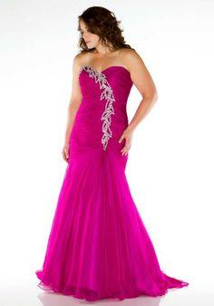 54eb62fdf62 Fabulouss Plus Size Dress 64503F at Peaches Boutique Bridal Dresses