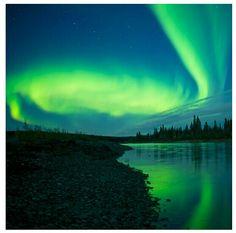 pinterest.com/fra411 #aurora #borealis - Aurora Borealis, Alaska