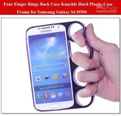 Wholesale Four Finger Rings Back Case The Lord of The Rings Knuckle Hard Plastic Case Frame Screen Protectors for Samsung Galaxy S4 i9500, Free shipping, $2.94/Piece | DHgate