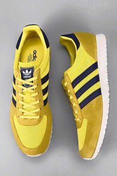 cheap for discount 5a4ed 040b8 I have a thing for yellow Adidas adiSTAR Racer Sneaker -