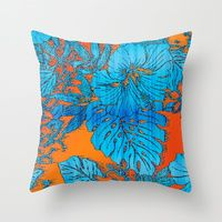 Tropical Paradise Collection By Vikki Salmela | Society6 Its a collection of all my tropical art, shown on the throw pillows. All #pillows are 20% off #today only. #tropicals, #watercolor, #graphics all original #art on pillows for #home #decor.