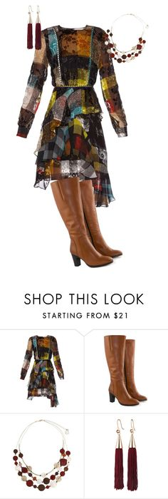 """""""Untitled #889"""" by pholtond on Polyvore featuring Preen, Jilsen Quality Boots, Erica Lyons and Eddie Borgo"""