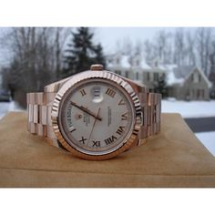 Rolex President Day Date 218235 Rose Gold!!! WOW!!!