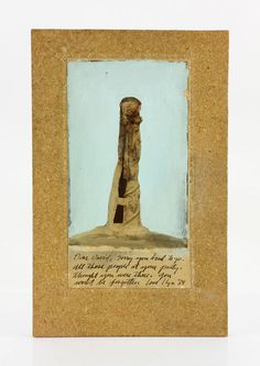 """2101 - Foulkes, """"Dear David,"""" Mixed Media on Paper Estate of a Prominent Los Angeles 1960s, 70s & 80s Art Gallery Owned by the late Jacqueline and David Stuart 