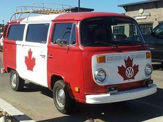 This Volkswagen Bus Spells Canadian Hippie Movement - autoevolution