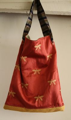 Reversible, Eco Friendly Market Tote by Remainewicked - $35