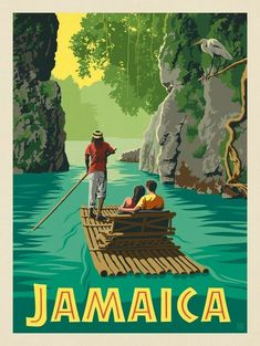 JAMAICA HOLIDAY A3 vintage retro travel /& railways posters print Wall Decor #3