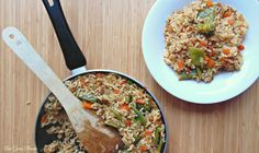 ANA GARÍN PINEDA: Arroz de verduras Risotto, Ethnic Recipes, Food, Cooking School, Vegetables, Restaurants, Eten, Meals