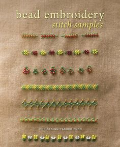 And last but not least - ordered this one too :) Bead Embroidery Stitch Samples: Yasuko Endo, CRK Design