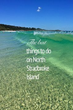 Cylinder Beach - one of the many relaxing places to visit on North Stradbroke Island, QLD.