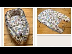 DIY - How to sew double sided baby nest for newborn baby Baby Sewing Projects, Sewing For Kids, Sewing Tutorials, Baby Knitting, Crochet Baby, Baby Nest Pattern, Homemade Baby Toys, Baby Nest Bed, Baby Mattress