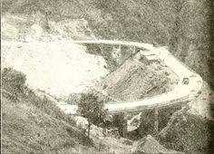 Carretera Caracas - La Guaira - Puente Sebastopol 1926