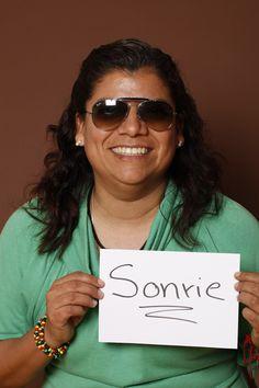 Smile, Martha Cedillo, Multimedios Deportes, Reportera, Monterrey, México.